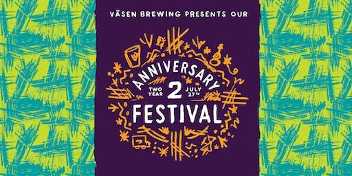 Väsen's 2nd Year Anniversary Festival