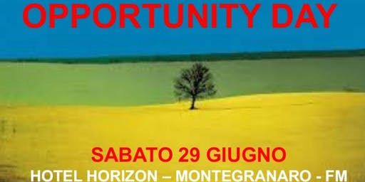 OPPORTUNITY DAY