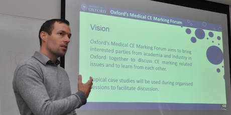Oxford Medical CE Marking Forum - Interactive (Virtual) online Seminar July 2019 tickets