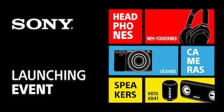 Launching Sony - 20 y 21 JUNIO 2019 entradas