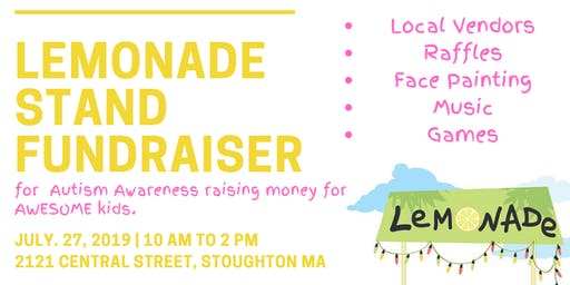 Lemonade Stand Event for Autism Awareness fo AWESOME Kids