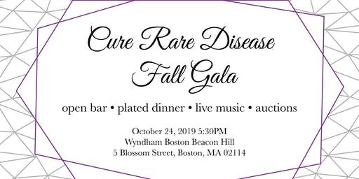 Cure Rare Disease Annual Fall Gala