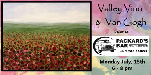 Valley Vino & Van Gogh Paint at Packard's