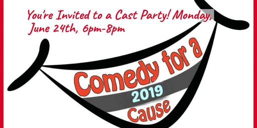 The Comedy for a Cause Kick-Off /Reveal Party