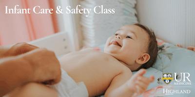 Infant Care & Safety Class, Sunday 9/22/19