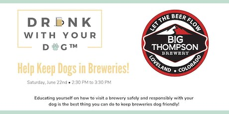 Help Keep Dogs in Breweries - Free Event tickets