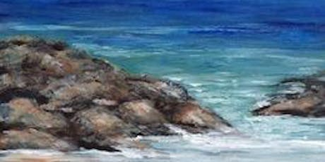 ACRYLIC LANDSCAPE or SEASCAPES Paint Night tickets