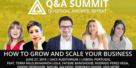 Q&A Summit - How to Start and Scale Up Your Business tickets