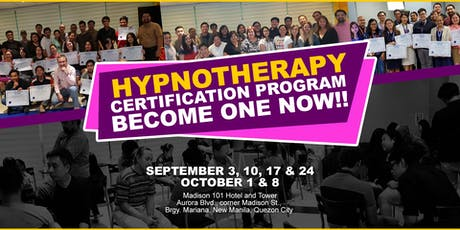 Hypnotherapy Certification Program (6 Sessions) tickets