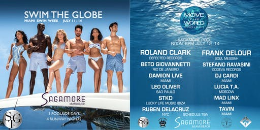 Swim The Globe Move The World Miami Swim Week benefiting PAW - Day 2
