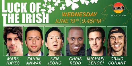 Ken Jeong, Chris Redd, and more - Luck of the Irish! tickets