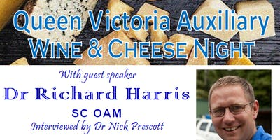 Wine and Cheese Night with Dr Richard Harris SC OAM