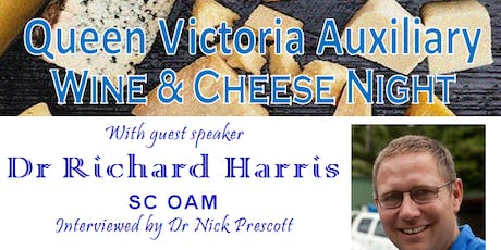 Wine and Cheese Night with Dr Richard Harris SC OAM tickets