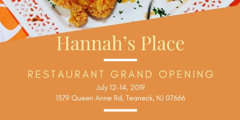 Hannah's Place Grand Opening