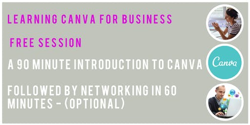 Free Canva for Business Introduction & Networking