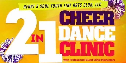 2in1 Cheer Dance Clinic