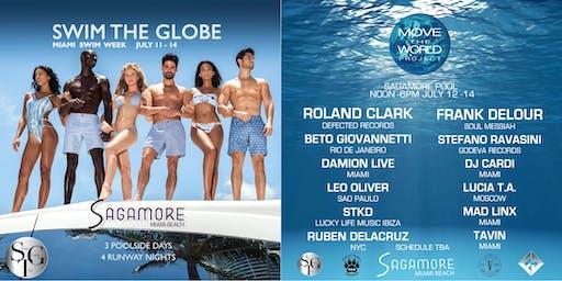 Swim The Globe Move The World Miami Swim Week benefitting PAW - Closing Day