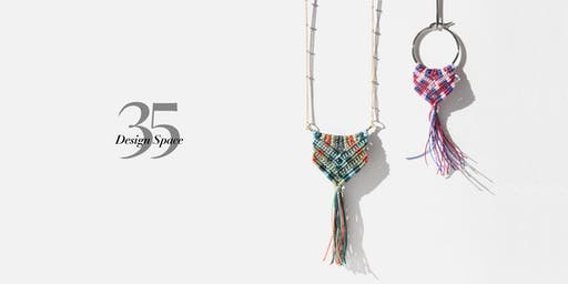 Macrame Jewellery with Tea & Cake 10/08/19