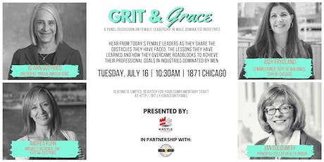 Grit & Grace - Female Leadership in Male Dominated Industries tickets
