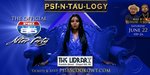 Psi-N-Tau-Logy: The Psi-85 Cookowt Afterparty 2019