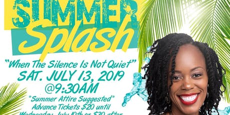 "Woman 2 Woman ""Summer Splash"" tickets"