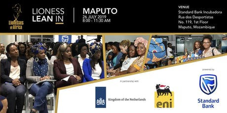 Lioness Lean In - Maputo, Mozambique bilhetes