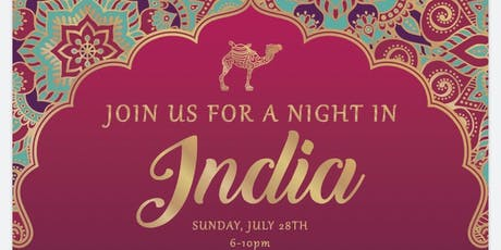 """A Night in India"" tickets"
