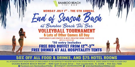 5th Annual End of Season Bash | Volleyball, BBQ, Games & More tickets
