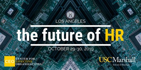 The Future of HR, October 2019 tickets
