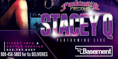 """STACEY Q LIVE"" AT THE BASEMENT"