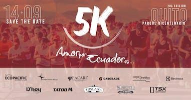 2da Edición Carrera Amor por Ecuador es...5k
