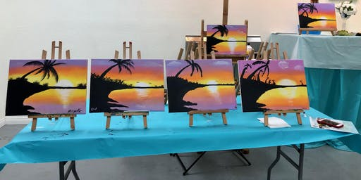 Alcohol Free Sip and Paint Night