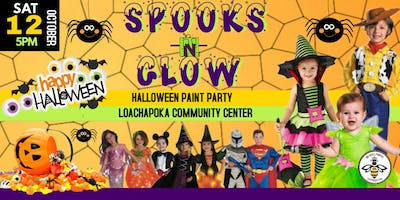 2ND ANNUAL SPOOKS & GLOW HALLOWEEN PAINT PARTY