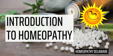 Introduction to Homeopathy tickets
