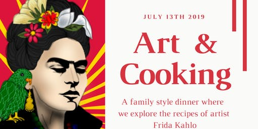 Austin Secret Kitchen | Supper Club - A Frida Kahlo Dinner - Thursday night dinner