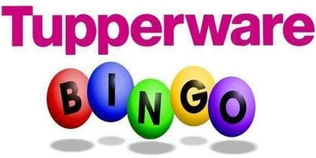 Tupperware Bingo tickets