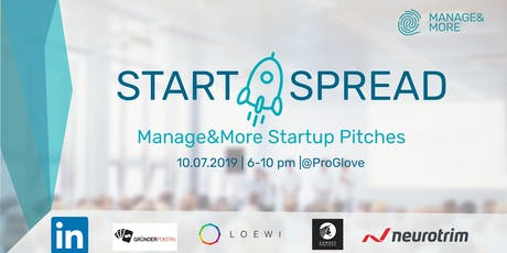 Start&Spread Summer 2019 - Startup Event by Manage&More entradas
