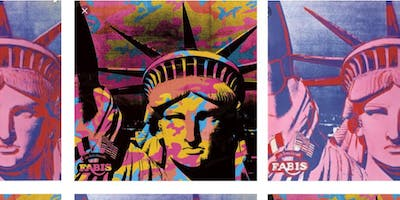 Lady Liberty Pop Art Painting Workshop, 4th of July Tribute!