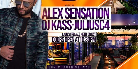 Alex Sensation at La Terraza Saturday tickets