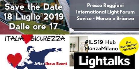 APE Aftershow ILS19 - Hub Monza Milano biglietti