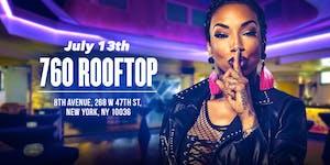 Sky from Black Ink Crew hosts SNL @ 760 Rooftop