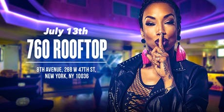 Sky from Black Ink Crew hosts SNL @ 760 Rooftop tickets