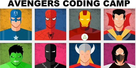 AVENGERS Coding STEM Camp (Age 5-8) tickets