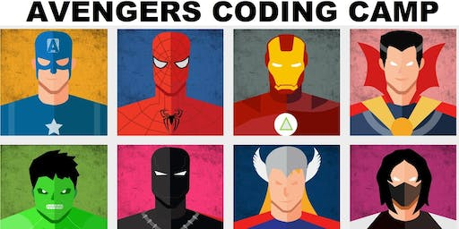 AVENGERS Coding STEM Camp (Age 5-8)