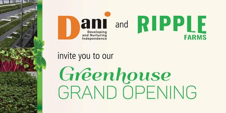 DANI Greenhouse Grand Opening tickets