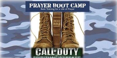 Prayer Boot Camp - Call of Duty Spiritual Warfare