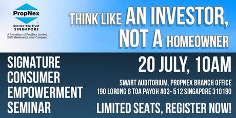 Think Like An Investor, Not A Home Owner. Best Investment Strategies 2H2019 tickets