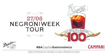 Negroni Tour tickets