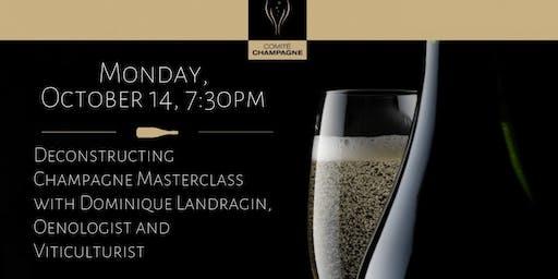 DC -- Deconstructing Champagne Masterclass