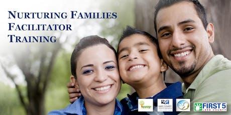 Nurturing Families Facilitator Training tickets
